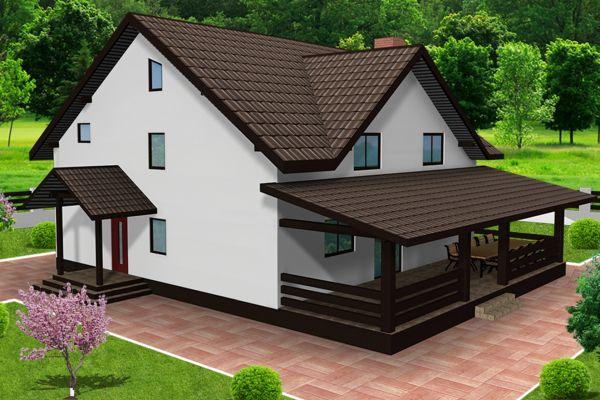 case cu terase din lemn tot confortul necesar unei On modele case cu terase acoperite